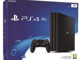 Sony PlayStation PS4 Pro 1TB Console (Black)